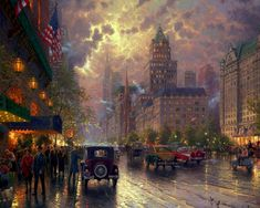Thomas Kinkade, New York, Fifth Avenue