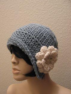 Vintage Crochet Cloche Hat Pattern.