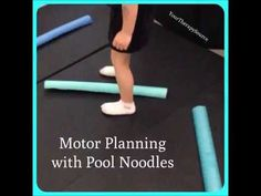 Motor planning and physical activity with Pool Noodles