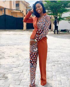 Beautiful Plain And Patterned Ankara Designs 2019 African Fashion Ankara, African Print Fashion, Africa Fashion, African Wear, African Attire, African Dress, African Jumpsuit, African Clothes, African Style