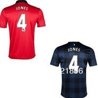 4e9c28481 Free Shipping 2013-14 Manchesterunited #4 JONES Home/Away soccer jerseys  cheap dicount online sale