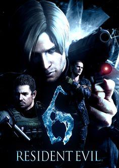 Men of resident Evil 6 (Chris, Leon & Jake)