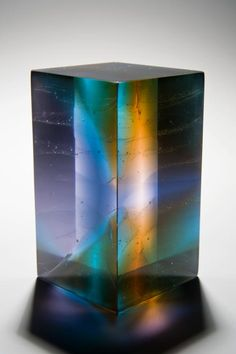 SABRINA CANT - small 'Contact', cast glass
