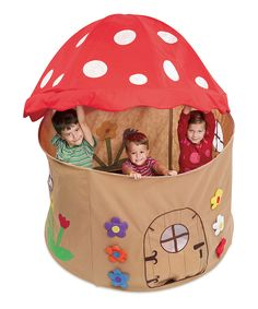 Love this Magic Cabin Mushroom Play Tent by Magic Cabin on #zulily! #zulilyfinds
