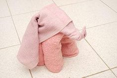 DIY  Fold a Towel Elephant DIY Origami DIY Craft