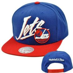 NHL LNH Mitchell Ness Throwback Vice Script Snapback Hat Cap NE93 Winnipeg Jets by Mitchell & Ness. $25.95. Mitchell & Ness brings you another cool, retro design with the Vice Script Throwback. It features a High crown retro shape, and green undervisor. There's no mistaking which NHL team you're supporting with this eye-catching 3D High Definition team name and logo design on the front panel. Mitchell & Ness logo embroidered on back panel. Top button, visor, and eyelets ...