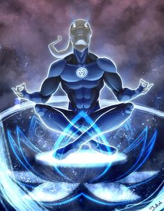 Saint Walker - Blue Lantern - Green Lantern Universe
