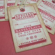 Christmas Tags - From Santa