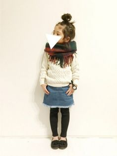 yuuunaさんのコーディネート Chloe Fashion, Look Fashion, Girl Fashion, Little Kid Fashion, Cute Kids Fashion, Toddler Outfits, Kids Outfits, Girlie Style, Cool Kids Clothes