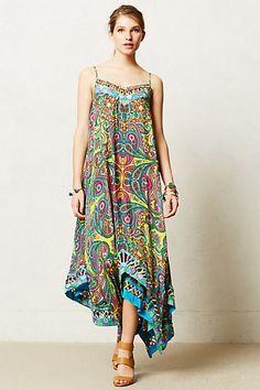 Kaleidoscope Mosaic Maxi Dress #anthropologie Lovely! spend, but lovely