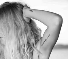 """Inner Bicep Tattoo-- i want """"the journey is the reward"""""""
