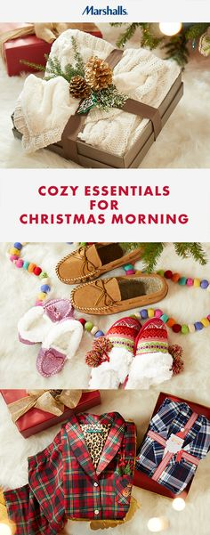 Gift your loved ones some cozy this Christmas. We've got the comfiest pj's, warmest slippers, and plushest throws at prices you'll love, so you can all snuggle up in style on the best morning of the year.