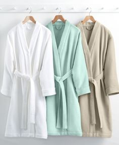 Hotel Collection Waffle Weave Robe, 100% Turkish Cotton, Only at Macy's - Tan/Beige