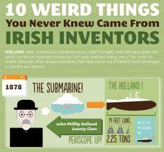 10 cosas raras inventadas por los irlandeses.