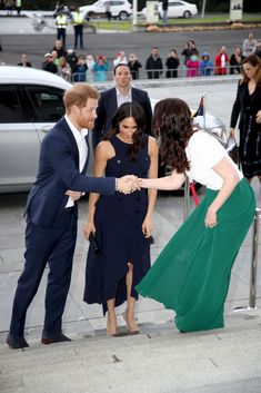 Meghan, Duchess of Sussex and Prince Harry, Duke of Sussex arrive at the Auckland War Memorial Museum for a reception hosted by Prime Minister Jacinda Ardern on October 2018 in Auckland, New. Get premium, high resolution news photos at Getty Images