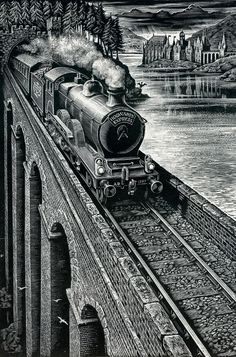Hogwart's Express by Andrew Davidson