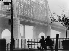 "Woody Allen "" Manhattan "". An amazing cinematic classic."