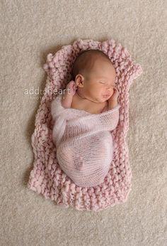 Knit Mohair wrap Mohair baby wrap Newborn door MoonlightLittleKnits, $26.00