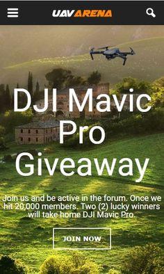 Giveaway - UAV arena