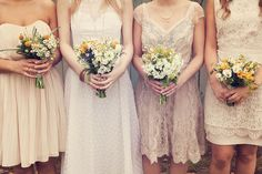 Lace Bridesmaid Dresses – Top Bridal Picks for Vintage or Rustic Weddings | TulleandChantilly.com