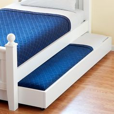 Jenny Lind Trundle Bed In Azure Land Of Nod If I Have A No M Not Pregnant Pinterest Storage S And Room