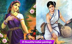 25 Beautiful Indian paintings and Indian Artworks for your inspiration. Read full article: http://myartmagazine.com/indian-paintings | more http://myartmagazine.com/other-paintings