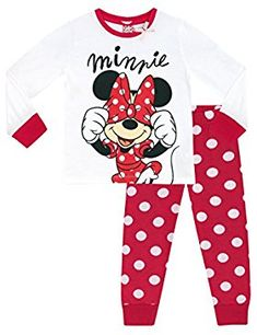 Shop these super cute Minnie Mouse pjs for your own little mouseketeer and she'll always have the sweetest of dreams! Disney Baby Clothes, Cute Baby Clothes, Baby Disney, Minnie Mouse Costume, Minnie Mouse Shirts, Pajama Outfits, Disney Outfits, Toddler Girl Outfits, Outfits For Teens