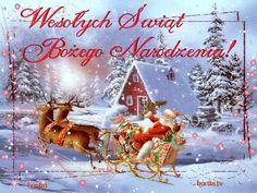 Wesołych Świąt Bożego Narodzenia Christmas Images, Christmas Bulbs, Merry Christmas, Christmas History, Snow Globes, Iris, Holiday Decor, Home Decor, Olaf