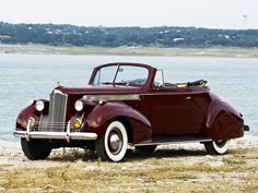 1940 Packard 120 Convertible Coupe (1801-1399)