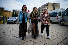 Street Style: Milan Fashion Week Spring 2017