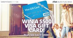 Win a $500 Visa Gift Card! Canadian Contests, Cash Gift Card, Free Sweepstakes, Win Free Gifts, Win Prizes, So Little Time, Giveaway, Teen, Author