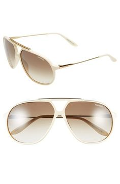 Men's Carrera Eyewear 64mm Sunglasses - Ivory
