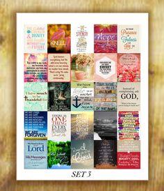 Bible Verses Stickers Set 3 for Erin Condren by RemanDesignStudio