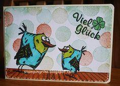 stamping rika: Viel Glück