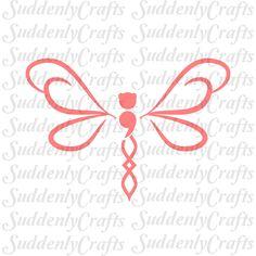 Semicolon Dragonfly in Flight by SuddenlyCrafts on Etsy