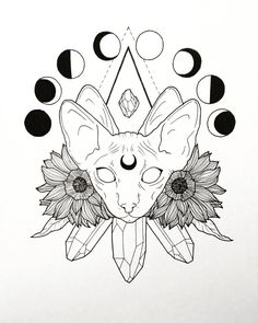 Ideas Tattoo Ideas Female Hip Design Tat For 2019 – Tatto Tattoo Sketches, Tattoo Drawings, Art Sketches, Kunst Tattoos, Body Art Tattoos, Deviantart Zeichnungen, Grafiti, Flash Art, Book Of Shadows