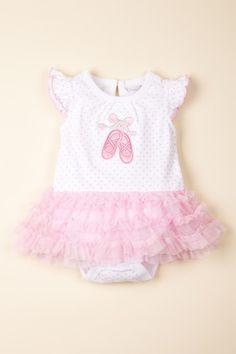Vitamins Baby Ballet Creeper