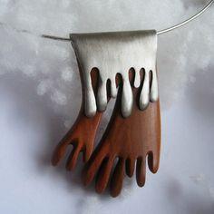 Divizna by Bohousa. Wood and silver.
