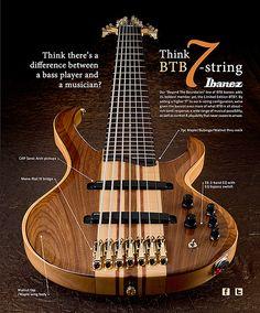 #Ibanez BTB7 #Bass #Guitar