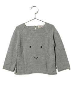 こども ビームスのoeuf / BUNNY knit (3~6Y)です。こちらの商品はBEAMS Online Shopにて通販購入可能です。
