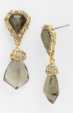Alexis Bittar Miss Havisham Bel Air Shield Drop Earrings Available At Nordstrom Gold