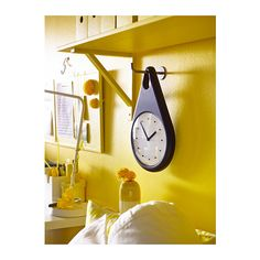 FNITTER Wall clock IKEA You can hang the clock on the included hook in the same design.