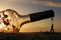 Last Drop by Photographer ahermin. Perspective photography
