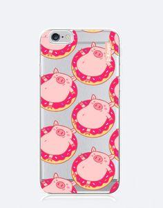 funda-movil-cerditos-donut-flotador-2 Phone Cases, Mobile Cases, Piglets, Phone Case
