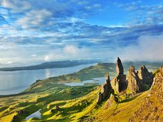 Isle of Skye mountains - Isle of Skye, Scotland.  I miss this beautiful and lonely place.