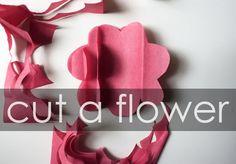 michael ann made.: tissue paper flower tutorial
