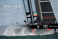 Oracle Team USA, skippered by James Spithill, during the America's Cup finals off San Francisco in Picture: Getty Images Sail Racing, Monaco Yacht Show, Boat Design, Cup Design, Yacht Boat, Luxury Yachts, Tall Ships, Water Crafts, Sailing Ships
