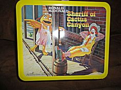 1982 Aladdin Ronald McDonald Metal Lunchbox w/Thermos