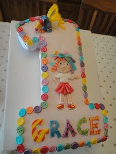 Everythings Rosie No1 Cake  THIS WOULD BE CUTE FOR ADRIANA GRACE....JESSIE