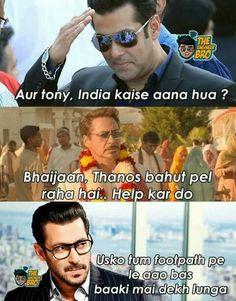 Footpath se uthakr star banaoga meme (Selmon bhai)